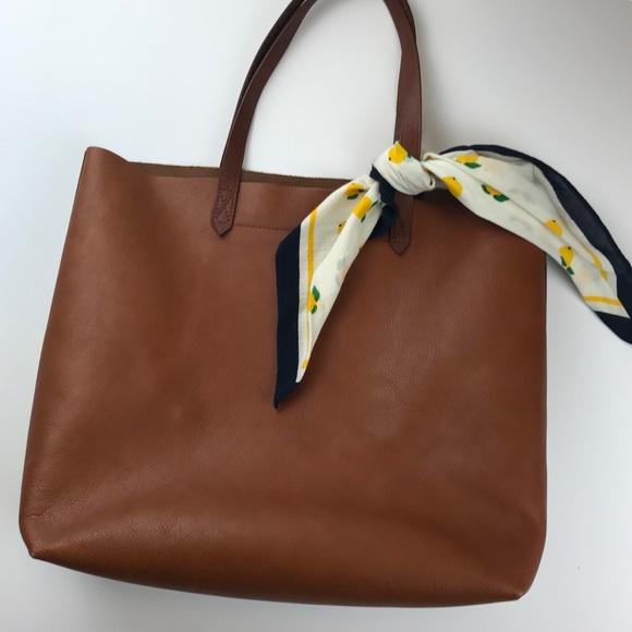 08b6337ee39 Madewell Handbags - Madewell Transport Tote with Bandana